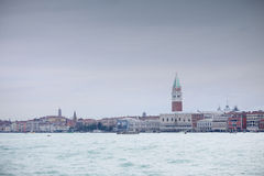 View of cityscape in Venice Stock Images