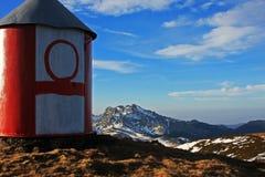 View of the Ciucas mountains, Romania Royalty Free Stock Photo