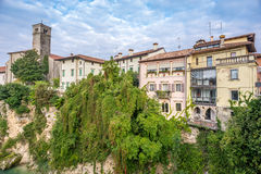 View at the Cividale del Friuli Royalty Free Stock Photography