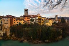 A view of Cividale del Friuli, Italy Stock Image