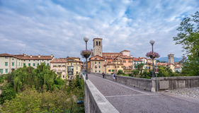 View at the Cividale del Friuli Royalty Free Stock Photos