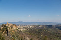 View Of Civita di Bagnoregio Royalty Free Stock Photography