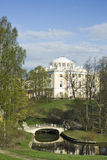 View of classical palace and bridge Royalty Free Stock Photo