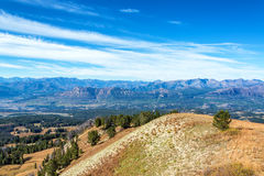 View from Clay Butte Overlook Royalty Free Stock Photography