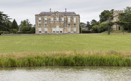 View of Claydon House. View of 18th century Claydon House  looking across the lake.  The house was recently used as location for the film Far from the Madding Royalty Free Stock Photos