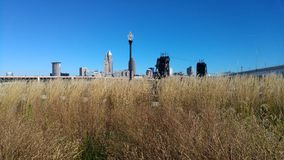 A View of Cleveland from Tremont Royalty Free Stock Photo