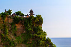 View of a cliff in Bali Indonesia. Stock Photo