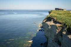 View from the cliff on Baltic sea Stock Images