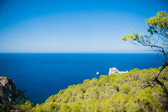 View from a cliff Royalty Free Stock Photography
