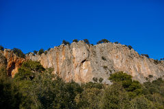 View of the cliff Stock Image