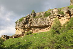 View of the cliff Royalty Free Stock Photography
