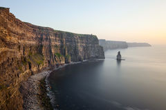 View at the Cliffs and Atlantic ocean. Royalty Free Stock Images