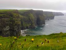 View from the Cliffs of Moher stock image