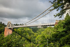 View of Clifton Bridge Royalty Free Stock Photos