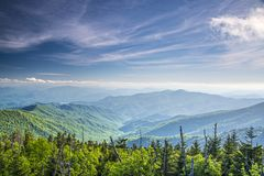 View From Clingman's Dome Stock Images