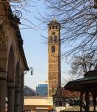 Clock Tower, Sarajevo Stock Image