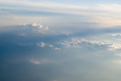 View at clouds Royalty Free Stock Image