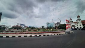 View Cloudy Semarang City Indonesia pesona indonesia