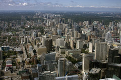 View from CN Tower Royalty Free Stock Photography