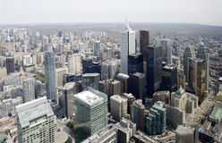 View from cn tower in toronto Stock Images