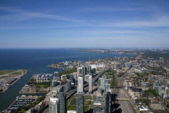 View from CN Tower, Toronto Stock Photography
