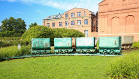 View of the coal carriage Royalty Free Stock Photo