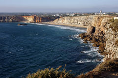 View of the coast in Algarve, Portugal Stock Images
