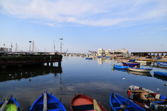 View from the coast of Bari, Italy Royalty Free Stock Images