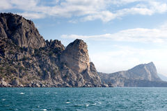 View of the coast of the Crimea in summer day Royalty Free Stock Photography