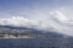 View on the coast of Kvarner, Croatia Stock Image