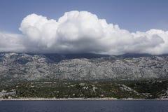 View on the coast of Kvarner, Croatia Royalty Free Stock Photos
