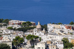 View of the Coast Line of Anacapri Italy  1 Stock Photo