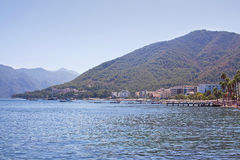 View of the coast of Marmaris. Turkey Stock Photography