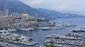 View of the coast of Monaco Royalty Free Stock Images