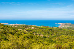View at the coast of Sardinia Stock Images