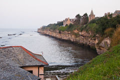 A view of the coast, St Andrews, Scotland royalty free stock photos