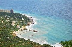 View of the coastal city Stock Photo