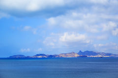 View of the coastal part of the city of Aden, Yemen. In a sunny day Royalty Free Stock Image