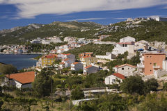 View of the coastal town of Neum, Bosnia and Herzegovina Royalty Free Stock Photography