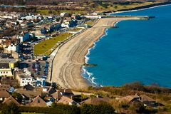 VIew on the coastline Royalty Free Stock Photography
