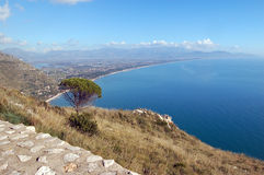 View of coastline Royalty Free Stock Photo