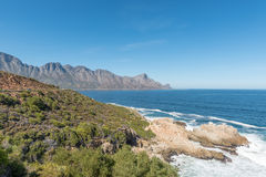 View of the coastline on Clarence Drive Royalty Free Stock Images