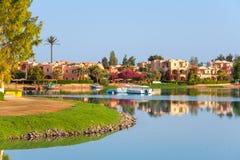 El Gouna. Egypt. View of coastline at El Gouna. Egypt, North Africa Royalty Free Stock Photos