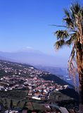 View of coastline towards Puerto de la Cruz, Tenerife. Royalty Free Stock Image