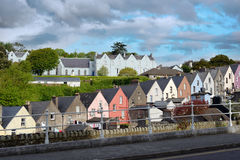 View of a cobh town street in county cork Stock Photography
