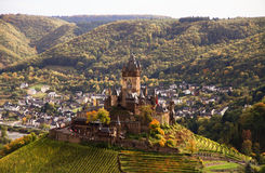 View on Cochem Castle Stock Photos