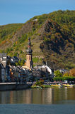 View on Cochem city Royalty Free Stock Photo