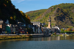 View on Cochem city Royalty Free Stock Images