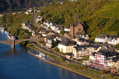 View on Cochem city Royalty Free Stock Photos