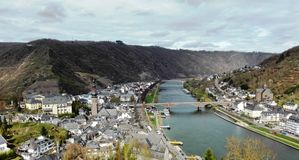 View of Cochem stock photo